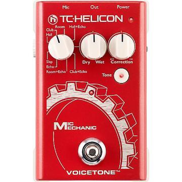 Custom TC Helicon Mic Mechanic 2016 Red