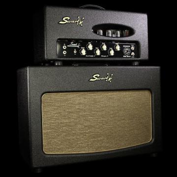 Custom Used Swart Super Space Tone 30 Head & 2x12 Cabinet Dark Tweed