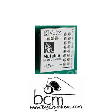 Custom Mutable Instruments Volts +5v eurorack power adapter