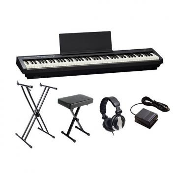 Custom Roland FP30 Black Digital Piano Bundle