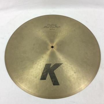 "Custom Zildjian 20"" K Custom Flat Top Ride Cymbal"