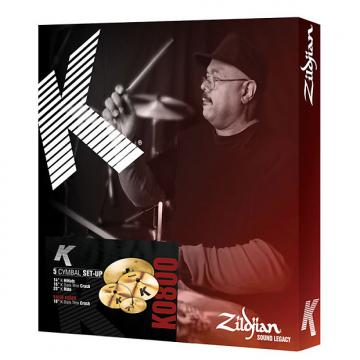 Custom Zildjian K Cymbal Set 14/16DTC/20 Free 18 DTC