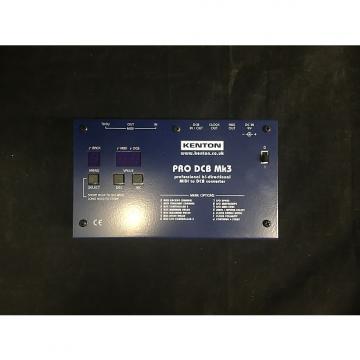 Custom Kenton PRO DCB MK3 midi to dcb converter Blue