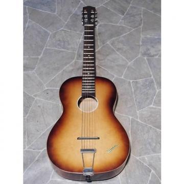 Custom vintage Klira TRIUMPHATOR parlor Jazz Blues Guitar Gitarre Germany 1960s