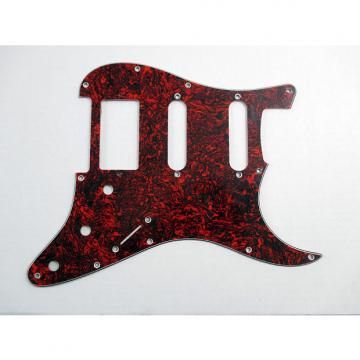 Custom Dragonfire H-S-S Red Tortoise Shell for Stratocaster