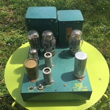 Custom Altec 340A Tube Power Amplifier