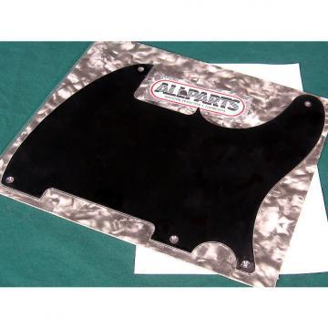 Custom Allparts Tele Esquire Pickguard Black 1-ply 5 hole