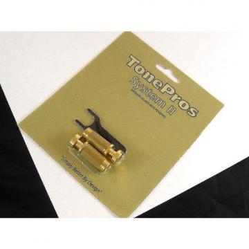Custom Tone Pros System II SGS1 Locking US Tailpiece Studs Gold SGS1/GLD