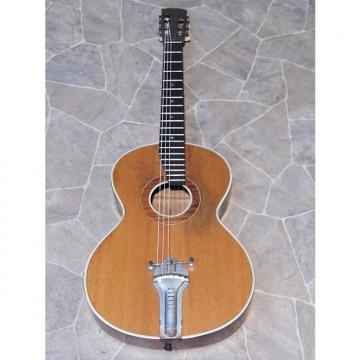 Custom gorgeous fine old all solid MEINEL & HEROLD birdseye PARLOR Jazz GUITAR Germany ~1930s
