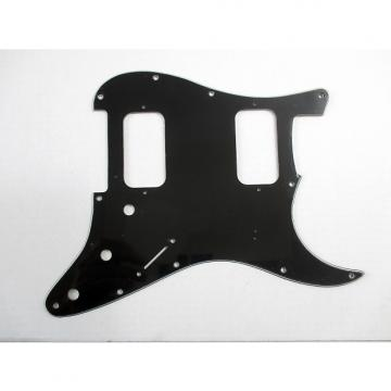 Custom mLaval H-H Pickguard Black for Stratocaster