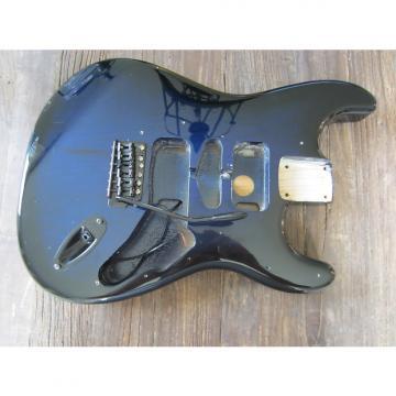 Custom MightMite Stratocaster Body | Trans Blue Burst, Includes Bridge & Jack Plate