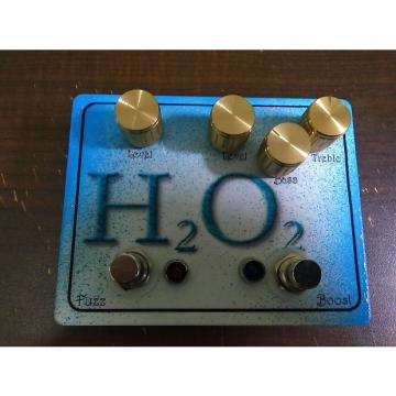 Custom SAE Effects H2O2 - dual boost eq and fuzz 2 in 1 guitar or bass pedal