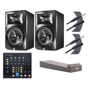 Custom 2x JBL LSR308 + Monitor Station V2 + MoPADs + Mogami Cables