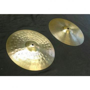 "Custom Paiste Signature Reflector Hi-Hat (pair). 14"", with Heavy Top and Heavy Bottom!"