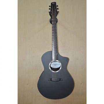 Custom Composite Acoustics OX ELE Black Carbon Fiber Raw