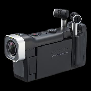 Custom Zoom Q4N Handy Video Recorder - Repack with 6 Month Alto Music Warranty!