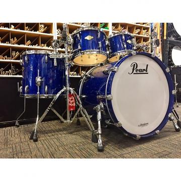 Custom Pearl Masters Premium Legend Blue Sparkle