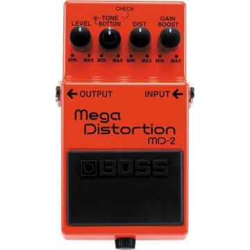 Custom BOSS MD-2 Mega Distortion Pedal