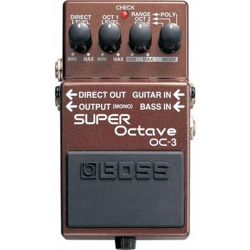 Custom BOSS OC-3 Super Octave Pedal