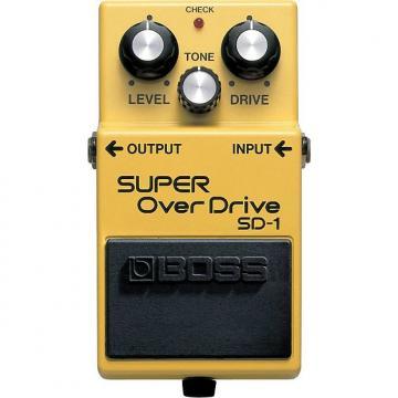 Custom BOSS SD-1 Super OverDrive Pedal