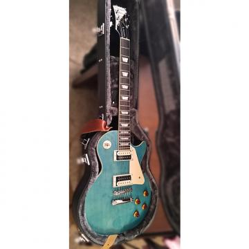 Custom 2016  Epiphone Les Paul Traditional Pro-II Ocean Blue Burst