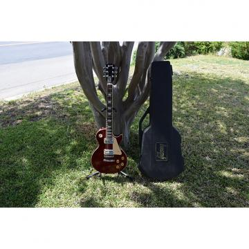 Custom Gibson  Les Paul standard , 1998 ,  wine red , with vintage Gibson chainsaw case, 1 piece body back!