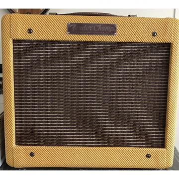 Custom Fender '57 Custom Champ Amp 5W 1x8 Guitar Combo 2016 Lacquered Tweed