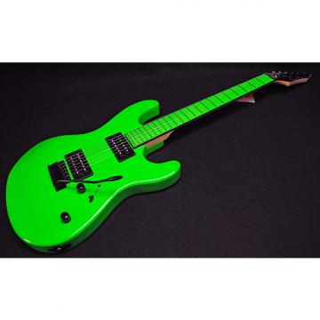 Custom Dean Custom Zone 2 HB Electric Guitar Florescent Green Professionally Set Up!