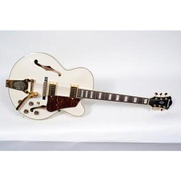 Custom Ibanez Artcore AF75TDGIV AF75 WHITE Hollowbody Electric Guitar-Ivory