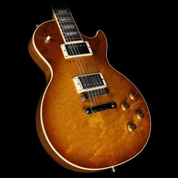 Custom Used 2016 Gibson Les Paul Roasted Birdseye Electric Guitar Honey Burst
