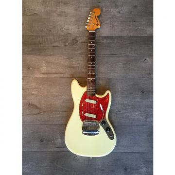 Custom Fender Mustang 1966 Olympic White