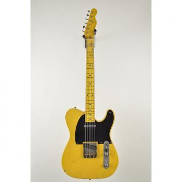 Custom Nash T-52 Butterscotch Blackguard Tele Telecaster 6.98 pounds Light Relic lightweight