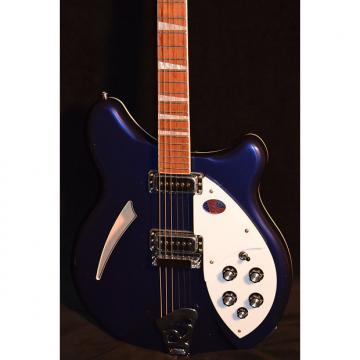 Custom Rickenbacker 360 Midnight Blue