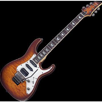 Custom Schecter Banshee-6 FR Extreme Electric Guitar in Vintage Sunburst Finish