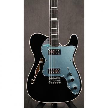 Custom Fender Telecaster Thinline Super Deluxe Black / Chrome