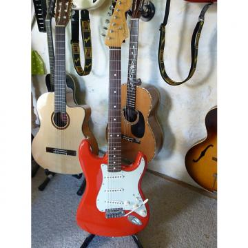 Custom Fender Mark Knopfler Artist Stratocaster 2009 Hot Rod Red
