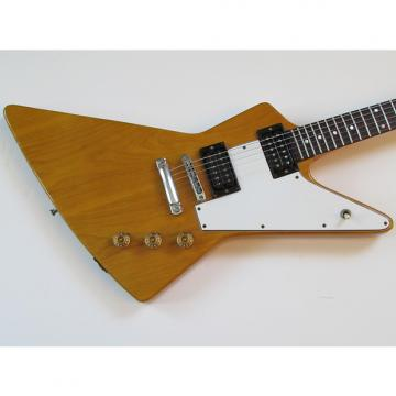 Custom 1976 Ibanez Golden Oldies Explorer Model 2459 Ash Body African Korina Finish w/OHSC
