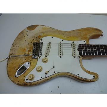 Custom fender Stratocaster 1966 Olympic white