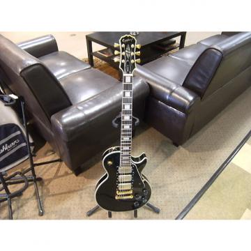 Custom Epiphone Les Paul Custom Black Beauty Korean made OHSC Free Shipping!