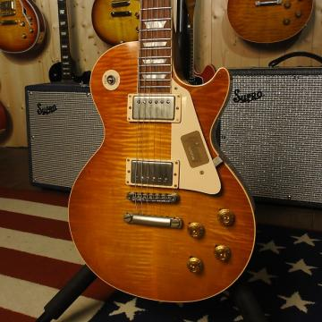 Custom Gibson Les Paul Custom VOS 1959 Sunrise Tea Burst
