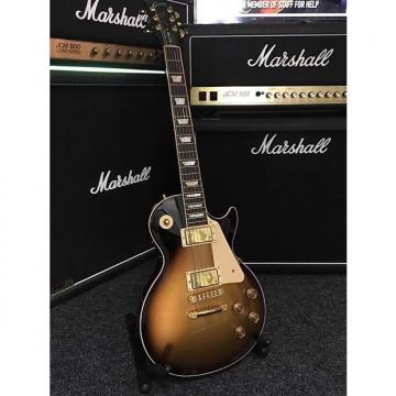 Custom Gibson Les paul 2014 ltd edition bill kelliher halcyon gold black burst