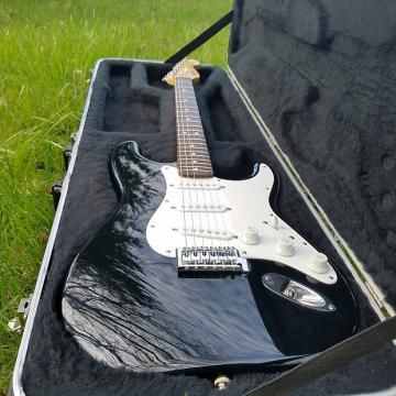 "Custom Fender Stratocaster MIM/Mexico Early ""Squier Series"" 1994 Black"