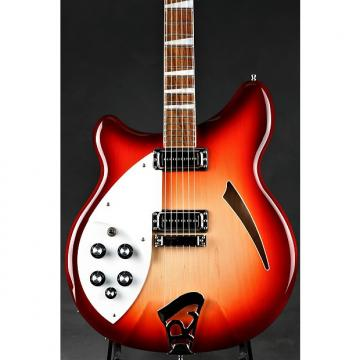 Custom Rickenbacker 360 Lefty - Fire Glo  2014