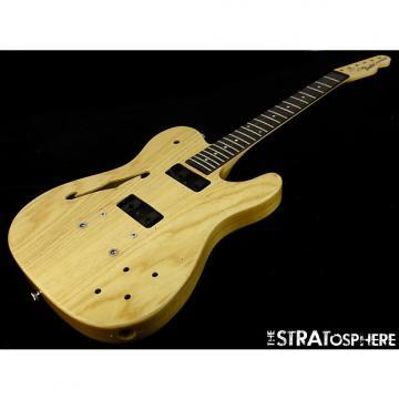 Custom Fender JA-90 Jim Adkins Thinline Tele BODY & NECK Telecaster Guitar Natural Ash