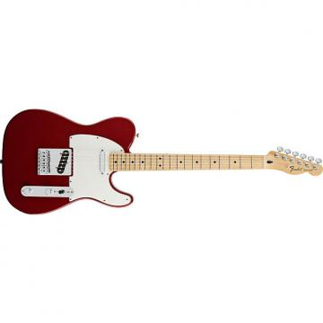 Custom Fender Standard Telecaster® Maple Fingerboard, Candy Apple Red - Default title