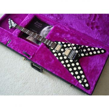 Custom Jackson Limited Edition Randy Rhoads Polka Dot V 1997