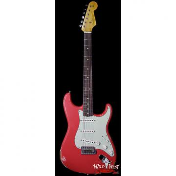 Custom Fender Custom Shop 1963 Stratocaster Relic Rosewood Fretboard Fiesta Red