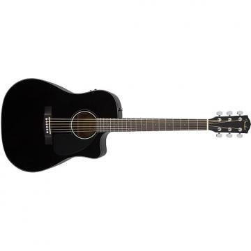 Custom Fender CD-60CE Black with Case