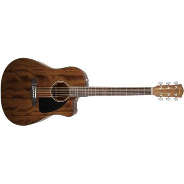 Custom Fender CD-60CE All Mahogany Natural with Case