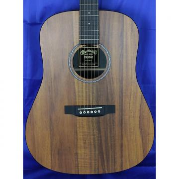 Custom Martin X Series DXK2AE Koa Dreadnought Acoustic Electric Guitar Natural